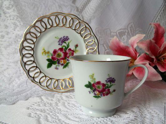 """Сервизы, чайные пары ручной работы. Ярмарка Мастеров - ручная работа. Купить Чайная пара, фарфор, """"Life Style"""". Handmade."""