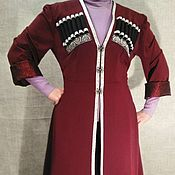 Одежда handmade. Livemaster - original item Female Circassian. Georgian costume. Dress in ethnic style. Handmade.