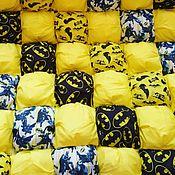 """Одеяла ручной работы. Ярмарка Мастеров - ручная работа Бомбон-одеяло """"Бэтмен"""". Handmade."""