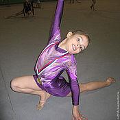 Одежда ручной работы. Ярмарка Мастеров - ручная работа Костюм для художественной гимнастики. Handmade.