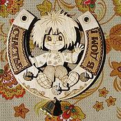 """Для дома и интерьера ручной работы. Ярмарка Мастеров - ручная работа Ключница """"Кузя"""". Handmade."""
