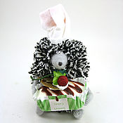 Куклы и игрушки ручной работы. Ярмарка Мастеров - ручная работа игрушка Ежик повар (ёжик, ежонок,кулинар). Handmade.