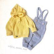 Комплекты одежды ручной работы. Ярмарка Мастеров - ручная работа Костюм для малыша. Вязаный костюм. Handmade.