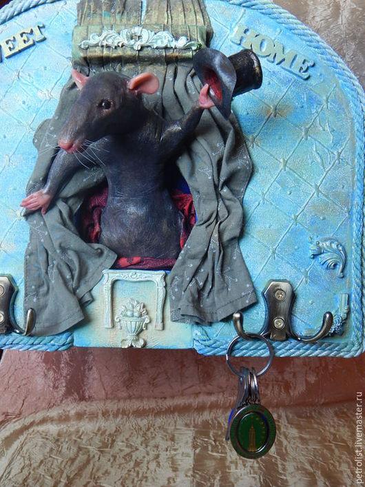 """Коллекционные куклы ручной работы. Ярмарка Мастеров - ручная работа. Купить Ключница    """" Я Вас приветствую!!!"""" Повтор. Handmade."""