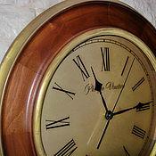 Для дома и интерьера handmade. Livemaster - original item Wall clock large 42cm. Handmade.