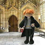 """Мягкие игрушки ручной работы. Ярмарка Мастеров - ручная работа """"Гарри Поттер"""" - кукла Рон. Handmade."""