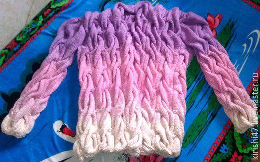 Пиджаки, жакеты ручной работы. Ярмарка Мастеров - ручная работа. Купить Кардиган Лало. Handmade. Розовый, лало кардиган