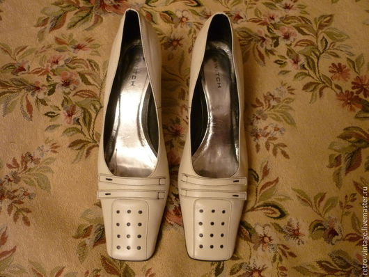 Винтажная обувь. Ярмарка Мастеров - ручная работа. Купить Туфли SWITCH.. Handmade. Белый