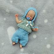 Куклы Reborn ручной работы. Ярмарка Мастеров - ручная работа Полностью силиконовый малыш 11 см. Handmade.