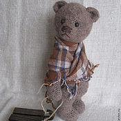 """Куклы и игрушки ручной работы. Ярмарка Мастеров - ручная работа Мишка """"Дедушкин носок""""(правый). Handmade."""