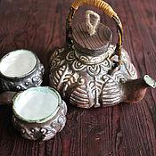 """Посуда ручной работы. Ярмарка Мастеров - ручная работа Чайник семейный """"Нартатэ"""". Handmade."""