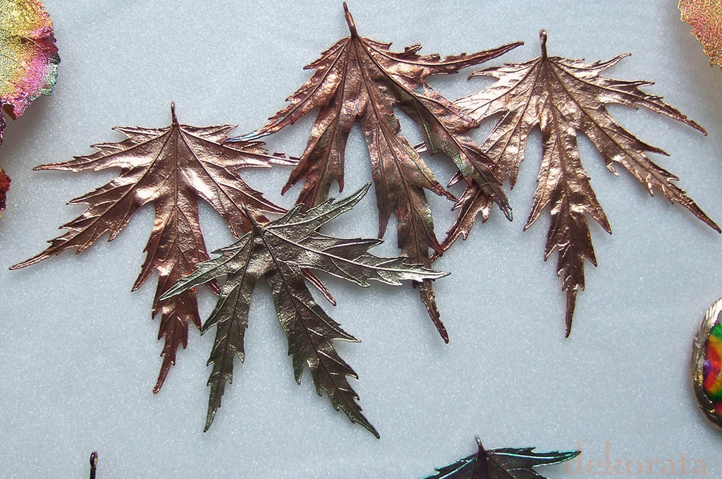 Листья клена, лист тополя, Подвеска, Москва,  Фото №1