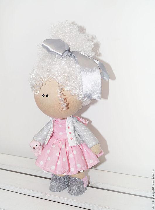 Куклы тыквоголовки ручной работы. Ярмарка Мастеров - ручная работа. Купить Авторская текстильная кукла ручной работы - Ксюша. Handmade.