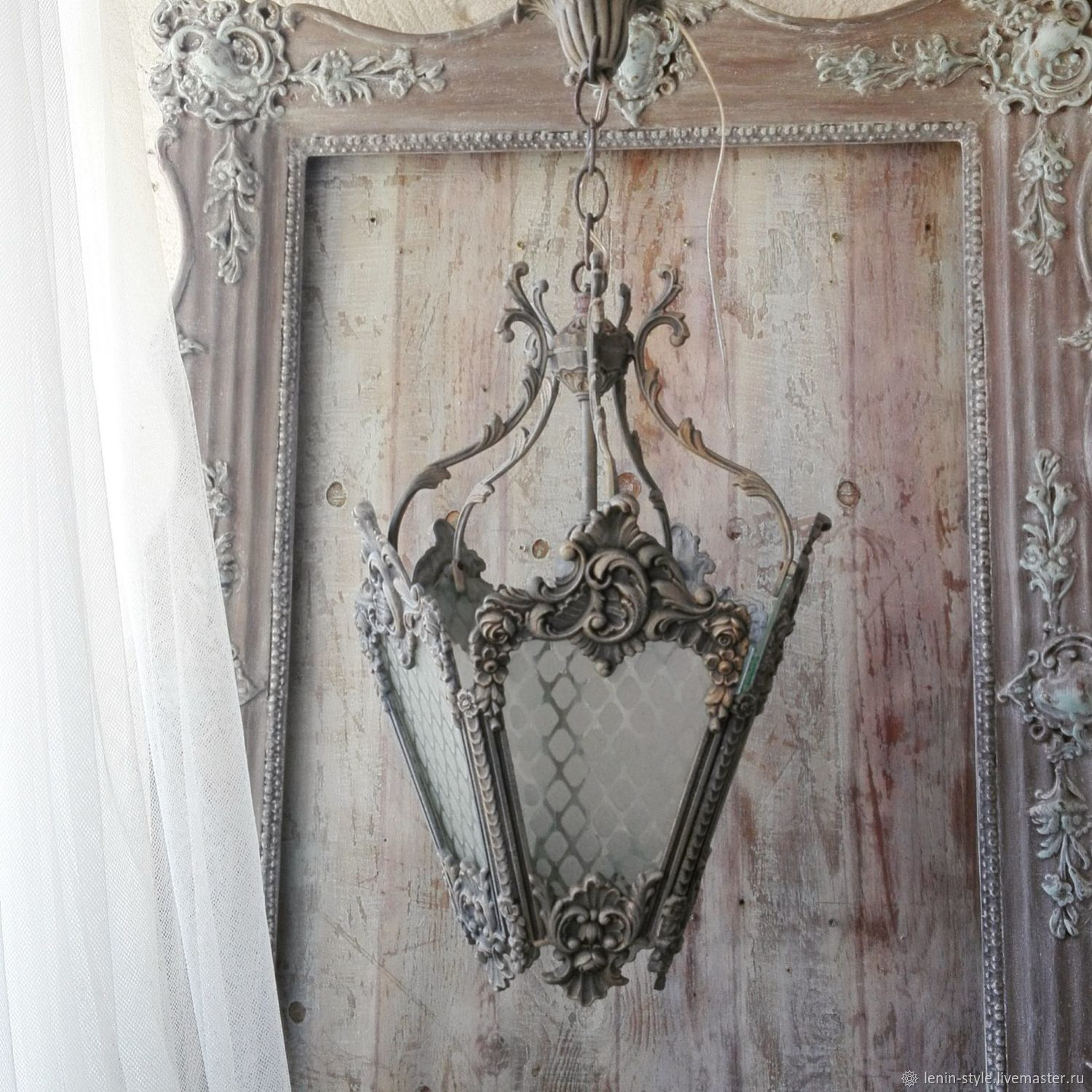 Vintage Provence Und Shabby Chic Im: Your BOOKING! Vintage Lantern.Suspension. Provence. Shabby
