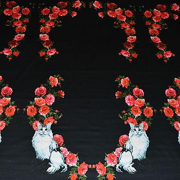 Материалы для творчества ручной работы. Ярмарка Мастеров - ручная работа Хлопок Dolce&Gabbana. Handmade.