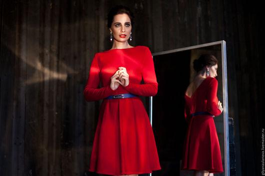 """Платья ручной работы. Ярмарка Мастеров - ручная работа. Купить Платье """"Пурпур"""". Handmade. Красный цвет, пурпурный, красивое платье"""