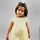 """Одежда для девочек, ручной работы. Ярмарка Мастеров - ручная работа. Купить Платье войлочное для девочки """"Ванильная Принцесса"""". Handmade."""