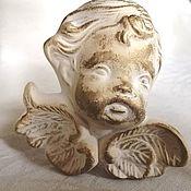 Винтажные предметы интерьера ручной работы. Ярмарка Мастеров - ручная работа Маленький керамический Ангел. Handmade.