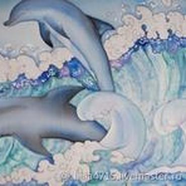 фото батик дельфины сделать трицикл ижа