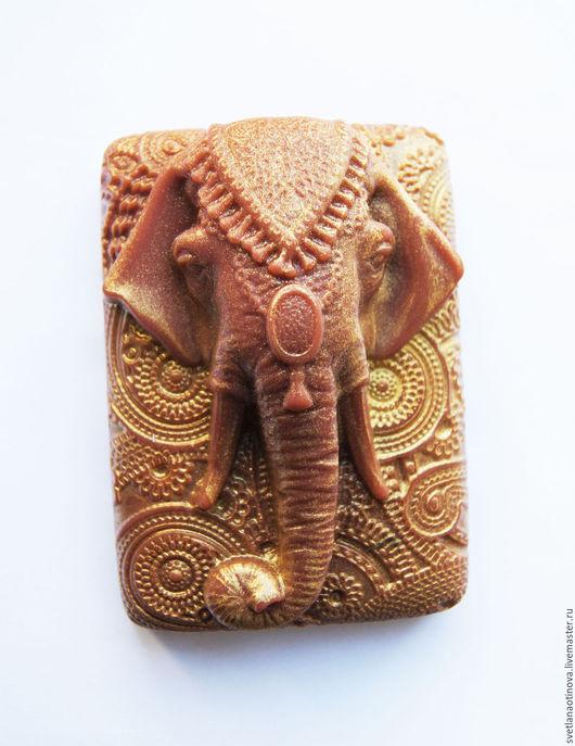 Мыло ручной работы. Ярмарка Мастеров - ручная работа. Купить Индийский слон. Handmade. Слон, мыло ручной работы