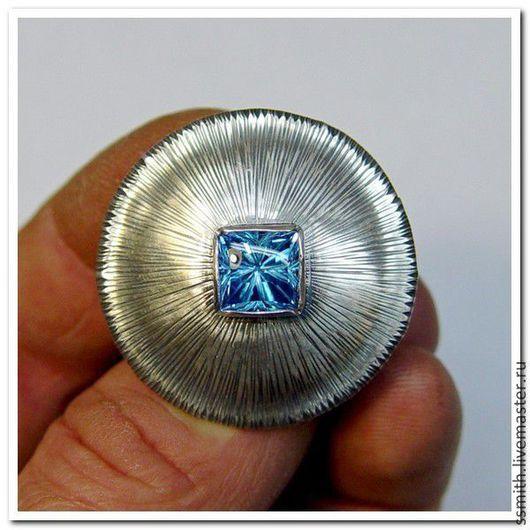 Кольца ручной работы. Ярмарка Мастеров - ручная работа. Купить Кольцо серебряное с топазом 2. Handmade. Топаз, топаз натуральный