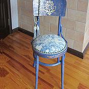 """Винтаж ручной работы. Ярмарка Мастеров - ручная работа Венский стул """"Синий"""" для примера. Handmade."""
