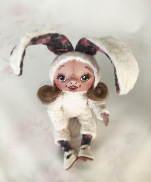 Коллекционные куклы ручной работы. Ярмарка Мастеров - ручная работа. Купить Кукла текстильная.. Handmade. Кукла ручной работы, хлопок