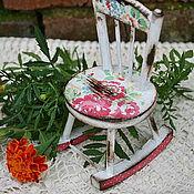 Для дома и интерьера ручной работы. Ярмарка Мастеров - ручная работа Кукольный стульчик. Handmade.
