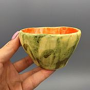 Посуда handmade. Livemaster - original item Hand - molded ceramic rosettes