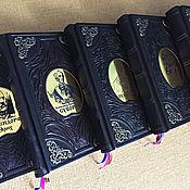 Подарки к праздникам handmade. Livemaster - original item Series GREAT GENERALS in leather cover. Handmade.