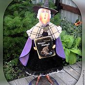 Куклы и игрушки ручной работы. Ярмарка Мастеров - ручная работа Кукла. Эсмеральда Ветровоск (Матушка Ветровоск). Handmade.