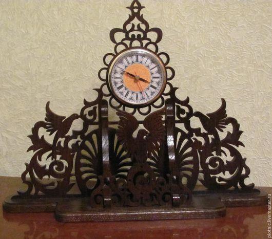Часы для дома ручной работы. Ярмарка Мастеров - ручная работа. Купить Часы настольные. Handmade. Дуб, часы интерьерные