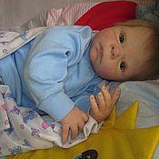 Куклы и игрушки ручной работы. Ярмарка Мастеров - ручная работа Кукла реборн из молда Семми от Адри Стоете. Handmade.