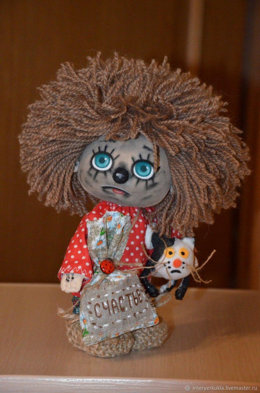 Домовенок Кузя и Ежкин кот!, Интерьерная кукла, Коломна,  Фото №1