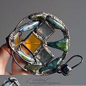 Украшения ручной работы. Ярмарка Мастеров - ручная работа Fish On The Pan brooch. Handmade.