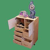 Для дома и интерьера ручной работы. Ярмарка Мастеров - ручная работа Комод 550 х 250 х 700 для швейных принадлежностей и не только..... Handmade.