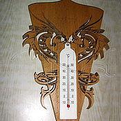 Картины и панно ручной работы. Ярмарка Мастеров - ручная работа Оправа для комнатного термометра. Handmade.