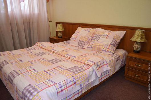 Комплект постельного белья изо льна `Абстракция`