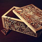 Для дома и интерьера ручной работы. Ярмарка Мастеров - ручная работа шкатулка - дар природы. Handmade.