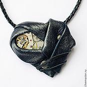 """Украшения ручной работы. Ярмарка Мастеров - ручная работа Кулон """"Сердце Форальберга"""" (синий). Handmade."""