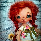 Куклы и игрушки ручной работы. Ярмарка Мастеров - ручная работа Дашенька. Текстильная кукла. Резерв. Handmade.