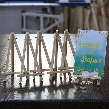Свадебный салон ручной работы. Ярмарка Мастеров - ручная работа Аксессуары: Мини мольберты. Handmade.