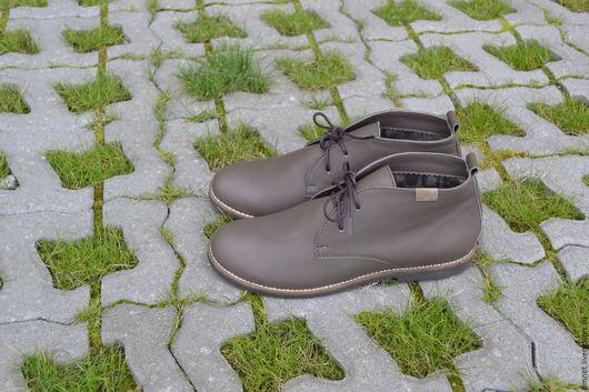 Обувь ручной работы. Ярмарка Мастеров - ручная работа. Купить Ботиночки женские на шнурках. Handmade. Коричневый, удобная обувь