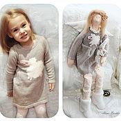 Куклы Тильда ручной работы. Ярмарка Мастеров - ручная работа Тильда малышка Энн (портретная). Handmade.