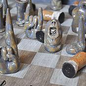 Сувениры и подарки handmade. Livemaster - original item Copy of Copy of Copy of Copy of Copy of Chess. Handmade.