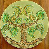 """Посуда ручной работы. Ярмарка Мастеров - ручная работа Тарелка """"Древо"""". Handmade."""
