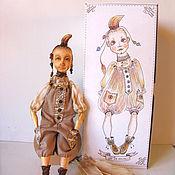 Куклы и игрушки ручной работы. Ярмарка Мастеров - ручная работа Тата, самостоятельная девочка и не терпит каких-либо возражений.. Handmade.