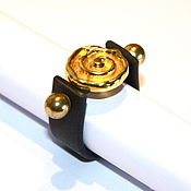 Rings handmade. Livemaster - original item Rubber ring