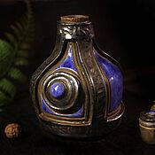 Посуда handmade. Livemaster - original item High-quality Bottle of