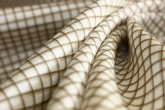 Шитье ручной работы. Ярмарка Мастеров - ручная работа. Купить Плательно блузочная ткань шелк-хлопок MAX MARA,1590руб-м. Handmade.